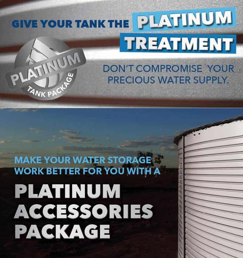 platinum water tank package